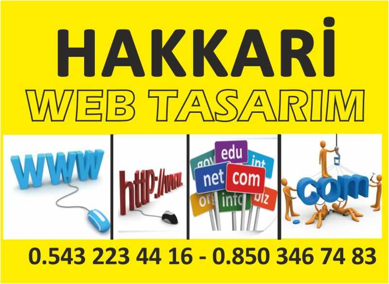 Hakkari Web Tasarım