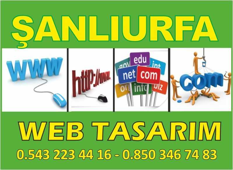 Şanlıurfa Web Tasarım – 0414 215 88 57 – 0543 223 44 16