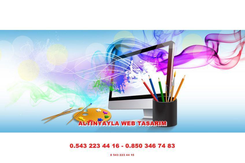 Altınyayla Web Tasarım