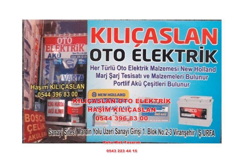 Viranşehir Oto Elektrik -0544 396 83 00 – Akü