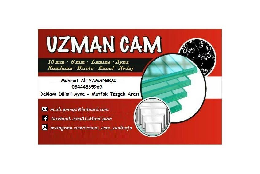 UZMAN CAM ŞANLIURFA 05444865969